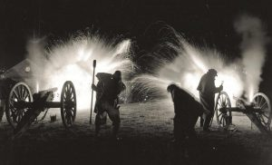 Kniibb's Battery at Tredegar Ironworks shooting for the Grand Georgia Gala in 2004